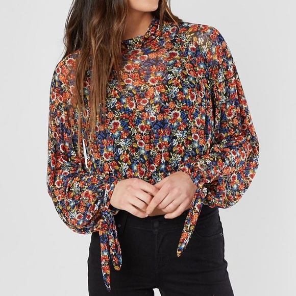 7c7c2e21821167 Free People Tops | All Dolled Up Floral Print Mesh Top | Poshmark
